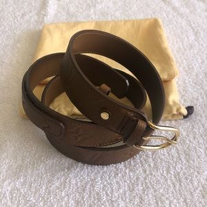 Louis Vuitton Empreinte Gracieuse Havane Belt